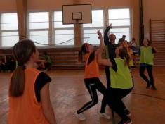 Školní basketbalový turnaj - dívky