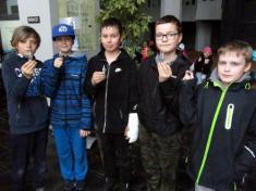 Výlet páťáků do Permonia v Oslavanech