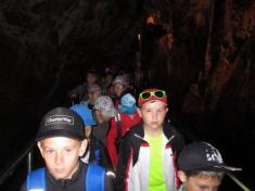 Výlet třeťáků do Moravského krasu