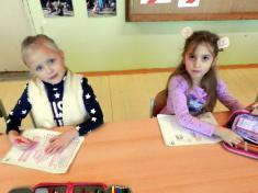 Žáci prvního ročníku