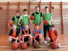 Školní basketbalový turnaj žáků