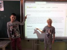 Žáci prvních tříd