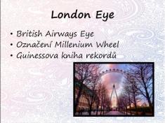 Eliška Janíčková - Londýn jak ho neznáte